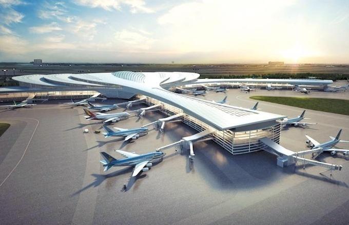 Phối cảnh sân bay Long Thành. Ảnh: ACV