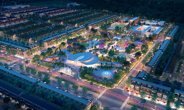 Khu đô thị Gem Sky World thu hút giới đầu tư