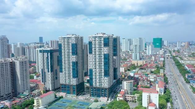 Dự án TNR GoldSeason tại 47 Nguyễn Tuân (Hà Nội) đã hoàn thiện và đi vào vận hành từ năm 2018 với 1.575 căn hộ.
