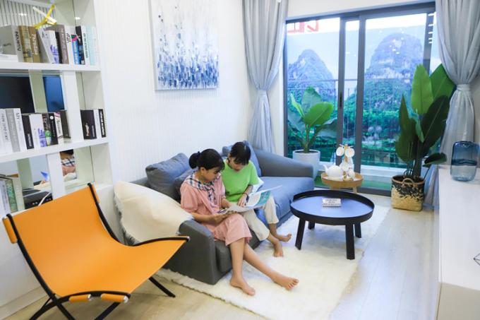 Căn hộ EcoLife Riverside Quy Nhơn sử dụng vật liệu cao cấp với thiết kế thông minh, tối ưu diện tích sử dụng trong căn hộ.