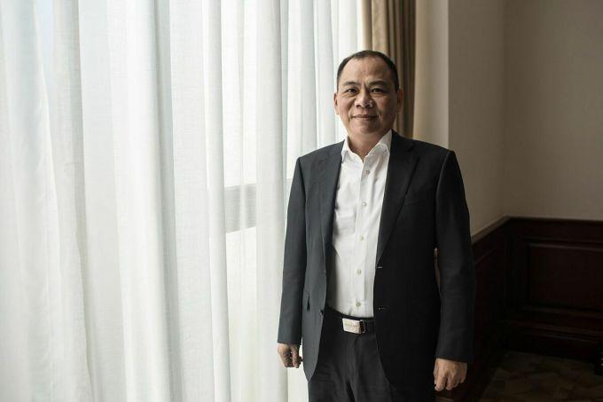 Ông Phạm Nhật Vượng hiện là người giàu nhất Việt Nam. Ảnh: Bloomberg