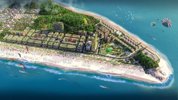 Phối cảnh đại dự án tại bãi biển Linh Trường - Thanh Hóa