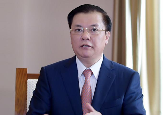 Bộ trưởng Tài chính Đinh Tiến Dũng. Ảnh: Anh Minh