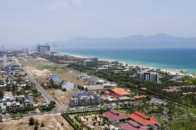 Nhu cầu đầu tư bất động sản Đà Nẵng có xu hướng chuyển dịch về phía Đông Nam thành phố với nguồn cung đất nền dồi dào. Ảnh: Nguyễn Đông.