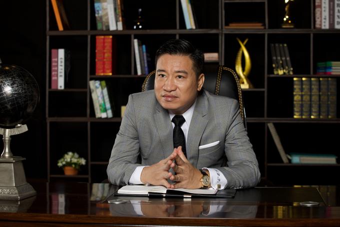 Ông Nguyễn Đình Trung - Chủ tịch Tập đoàn Hưng Thịn.