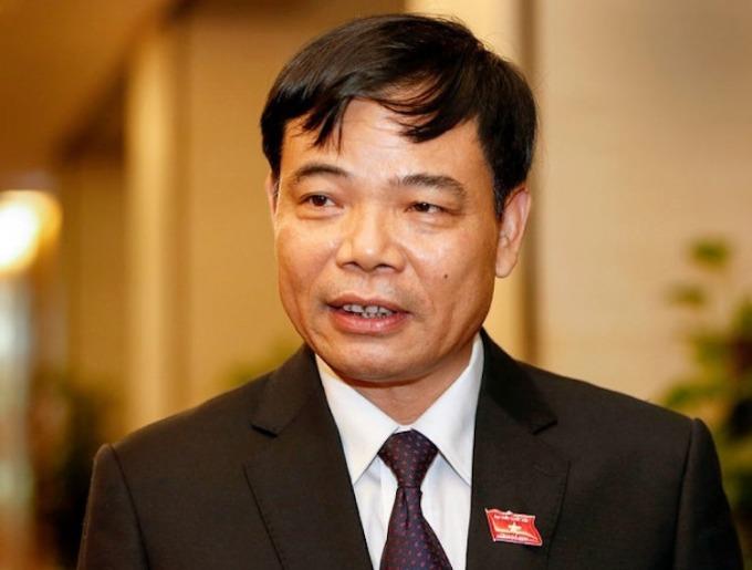 Ông Nguyễn Xuân Cường - Bộ trưởng Nông nghiệp & Phát triển nông thôn. Ảnh: Ngọc Thắng