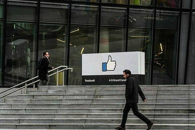 Trụ sở khu vựcchâu Âu của Facebook tại Dublin (Ireland). Ảnh:Bloomberg