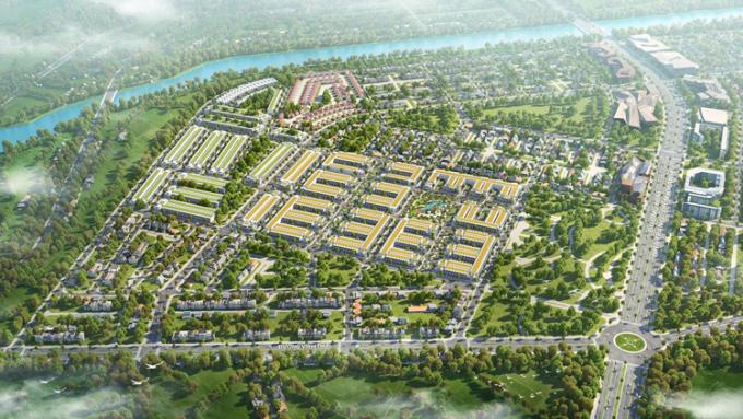 Phối cảnh tổng thể dự án KVG The Capella Nha Trang.