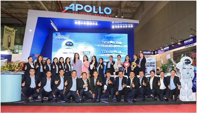 Apollo Silicone mang công nghệ 4.0 đến Vietbuild 2020