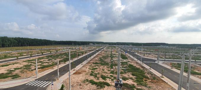 Dự ánHưng Thịnh Golden Land hoàn thiện hạ tầng.