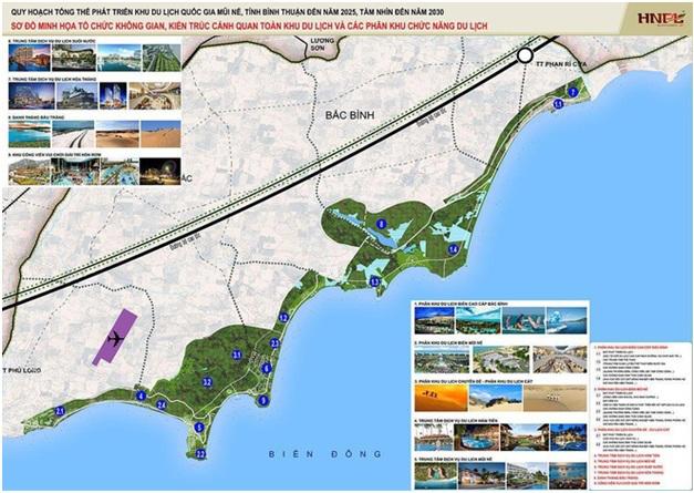 """Việc quy hoạch và phát triển khu du lịch Mũi Né sẽ là """"thỏi nam châm"""" hút khách du lịch."""