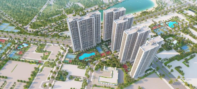 Dự án Imperia Smart City nằm trong quần thể đại đô thị thông minh Vinhomes Smart City.