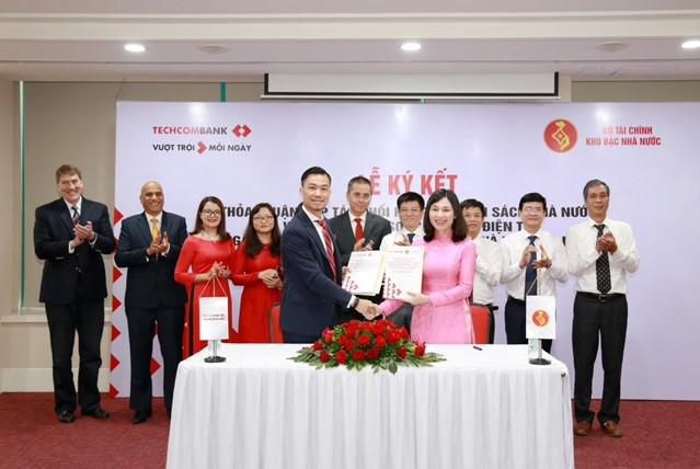 Techcombank hợp tác với Kho bạc Nhà nước