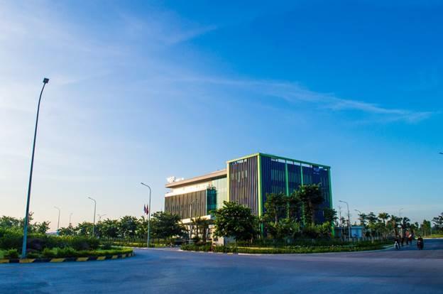 Đường Hữu Nghị, Khu Công nghiệp Đô thị và Dịch vụ VSIP Bắc Ninh.