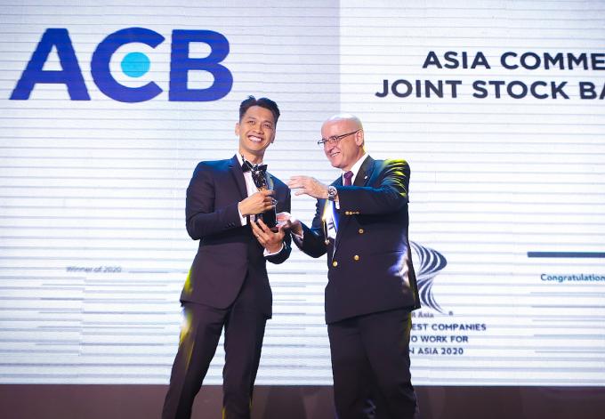 ACB vào top nơi làm việc tốt nhất châu Á