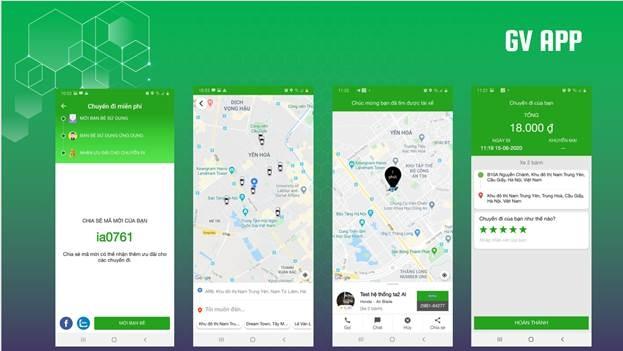 Thêm ứng dụng gọi xe công nghệ ra mắt thị trường