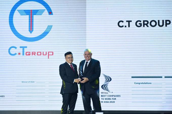 C.T Group lọt vào top nơi làm việc tốt nhất châu Á