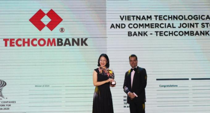 Techcombank được vinh danh