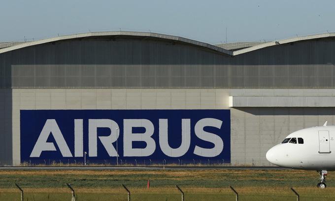 Nhà máy Airbus tại Seville, Tây Ban Nha. Ảnh: Bloomberg