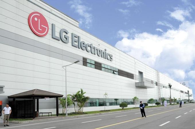 Nhà máy LG Electronics đặt tại KCN Tràng Duệ, Hải Phòng. Ảnh: LG Vietnam