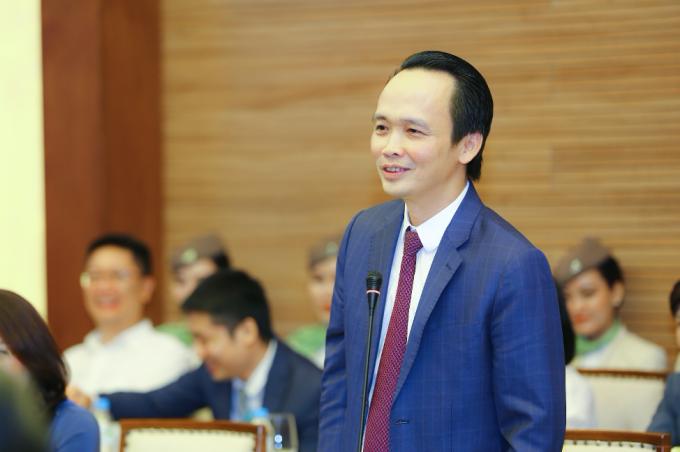 Ông Trịnh Văn Quyết, Chủ tịch HĐQT Tập đoàn FLC.