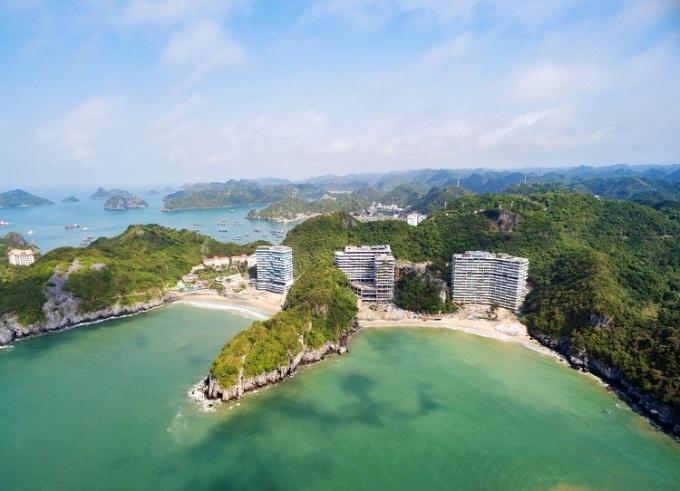 Flamingo Cat Ba Resorts - khu biệt thự trên cao 5 sao mặt tiền biển đầu tiên tại miền Bắc.