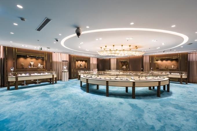 Diamond House - Nơi trung bày các sản phẩm đẳng cấp của Trang sức DOJI.