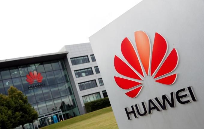 Trụ sở của Huawei tại Reading (Anh). Ảnh: Reuters