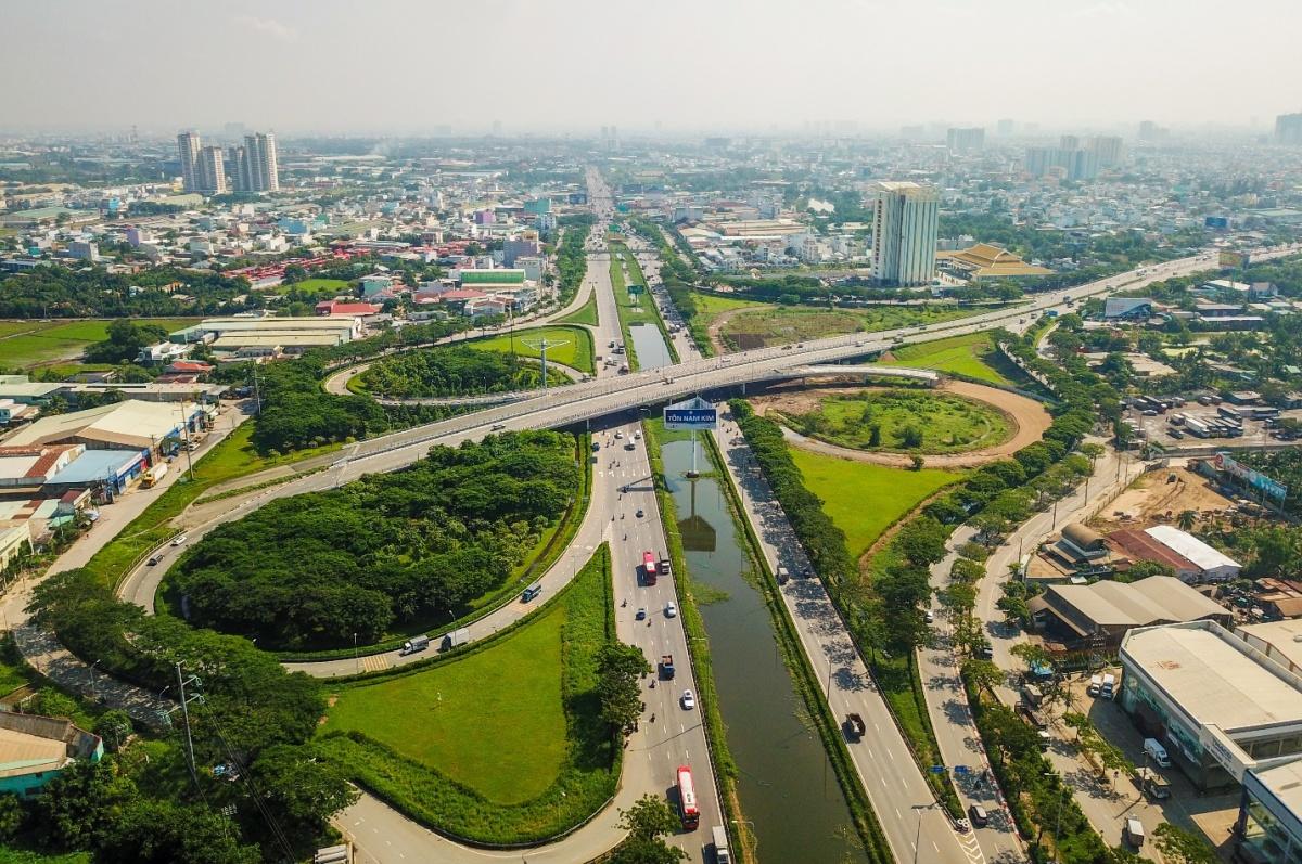 Loạt công trình thay đổi diện mạo khu Tây Nam TP HCM