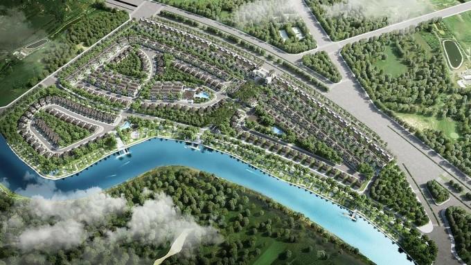 Phân khu Zeit River County 1 chú trọng các mảng xanh nội khu, 100% các sản phẩm thấp tầng tạo giúp tối ưu tầm nhìn ra khung cảnh thiên nhiên cho mỗi ngôi nhà.