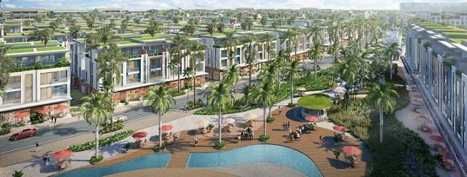 Meyhomes Capital Phú Quốc được kỳ vọng trở thành trung tâm kinh tế, văn hóa và tài chính phía Nam đảo.