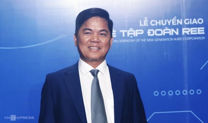 Ông Huỳnh Thanh Hải - Tổng giám đốc REE. Ảnh: Phương Đông.