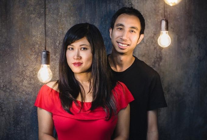 Đôi vợ chồng Kristy Shen và Bryce Leung. Ảnh: Kristy Shen