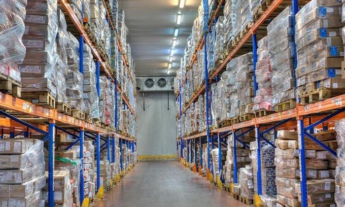 Mô hình dịch vụ kho lạnh đang được vận hành tại Việt Nam. Ảnh: ABA.com.vn