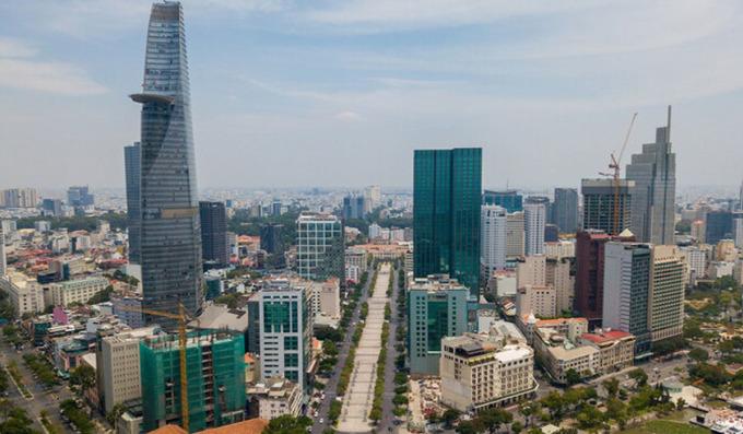 Thị trường văn phòng khu trung tâm TP HCM. Ảnh: Trần Quỳnh