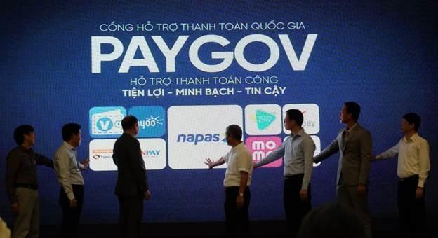 Lễ ra mắt Cổng hỗ trợ thanh toán quốc gia PayGov, hôm... (Khách bổ sung ngày).