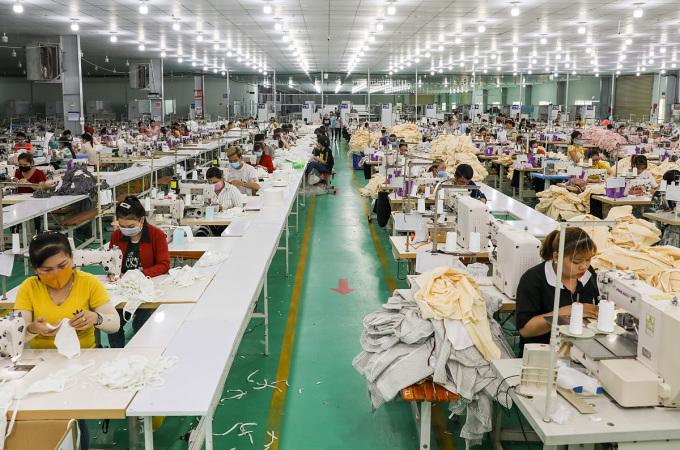 Các khu công nghiệp Việt Nam đón làn sóng dịch chuyển sản xuất của các doanh nghiệp nước ngoài. Ảnh: Quỳnh Trần.
