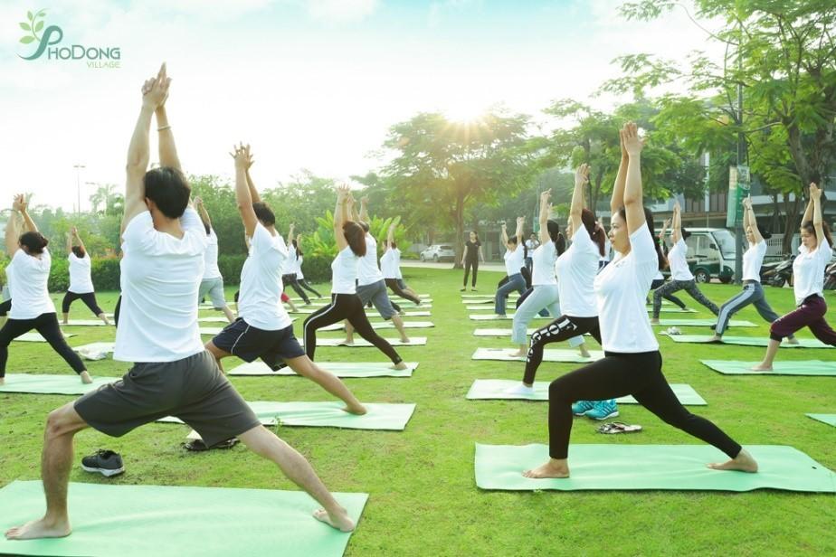 Trải nghiệm không gian sống xanh tại khu đô thị PhoDong Village