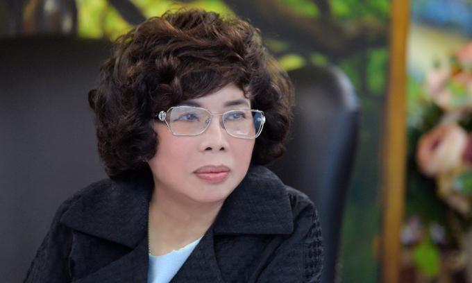 Doanh nhân Thái Hương, nhà sáng lập Tập đoàn TH. Ảnh: TH.