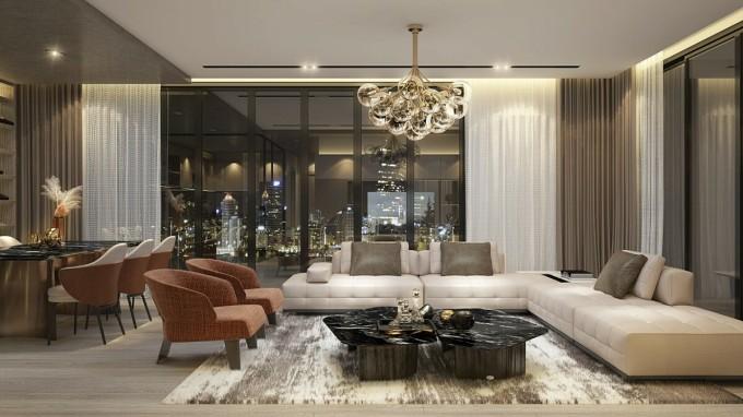 Sự xuất hiện của thương hiệu khách sạn tiêu chuẩn 5 sao quốc tế góp phần bảo chứng cho chất lượng sản phẩm bất động sản.