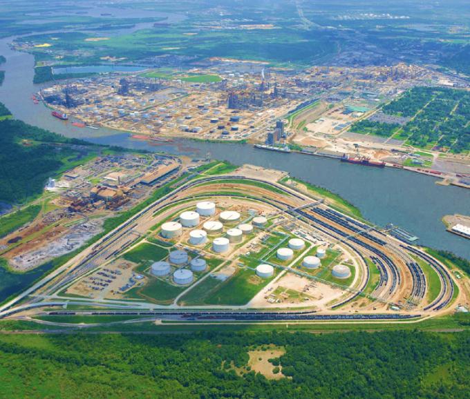 Dự án Jefferson Terminal của CanAm Enterprises