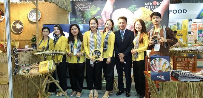 Mekong River tham gia hội chợ triển lãm tại SECC.