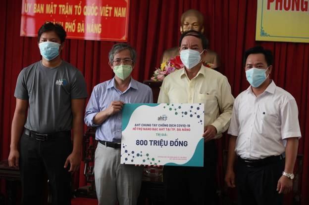 Công ty Á Châu đóng góp hơn 1.000 lít Nano bạc chống dịch ở Đà Nẵng - 1