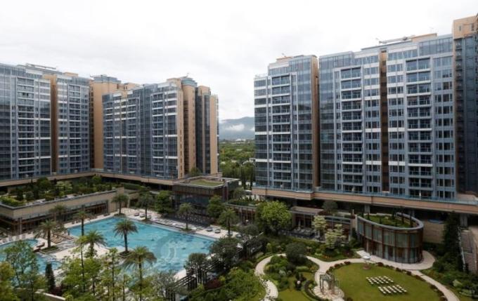 Một dự án của Sun Hung Kai Properties tại Hong Kong. Ảnh: Reuters