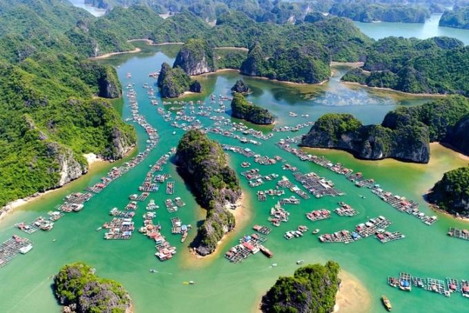 Vịnh Hạ Long. Ảnh: Vi Ngoc Minh Khue/Getty Images