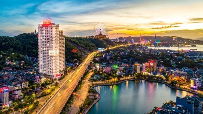 Dự án căn hộ du lịch tại thành phố Hạ Long, tâm điểm thu hút giới đầu tư bất động sản nghỉ dưỡng miền Bắc. Ảnh: Hồng Quân.