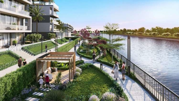 Panomax River Villa - một dự án cao cấp tại quận 7, TP HCM.
