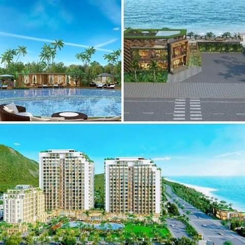Phối cảnh dự án The Long Hai Resort trước đây.