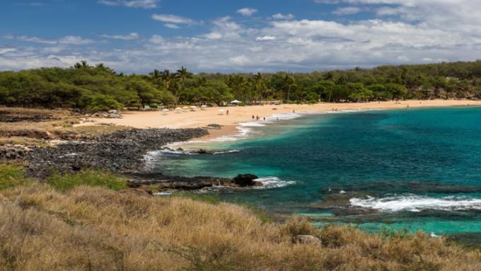 Lanai, một hòn đảo nằm trong quần đảo Hawaii thuộc sở hữu của tỷ phú Larry Ellison.
