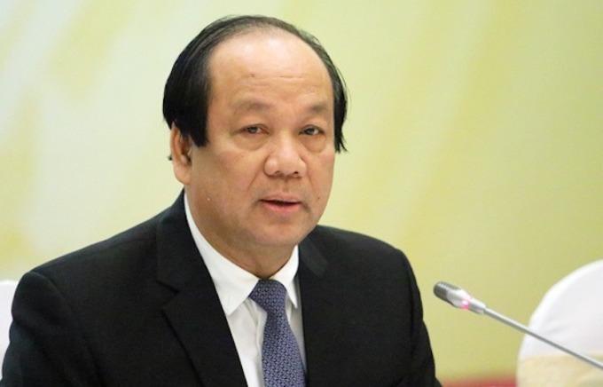 Ông Mai Tiến Dũng - Bộ trưởng, Chủ nhiệm Văn phòng Chính phủ. Ảnh: VGP.